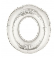 Ballon aluminium numéro 0 or