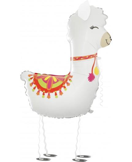 Laufballon Lama