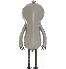 Segugio per palloncini foil bradipo animale
