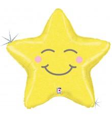 Palloncino foil stella addormentata