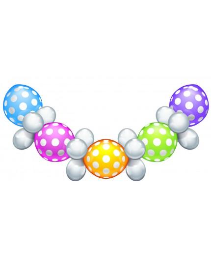 "Set de ballons ""Polka Dots"""