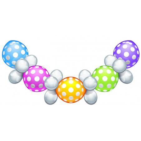 "Ballon-Set ""Polka Dots"""