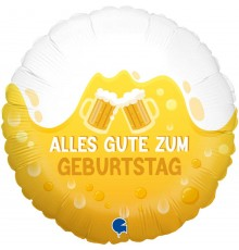 "Ballon en aluminium ""Toutes les meilleures applaudissements"""