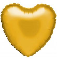 """Palloncino foil """"cuore"""" oro"""