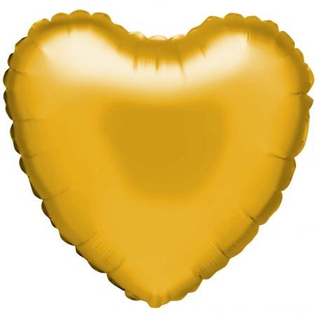 """Folienballon """"Herz"""" gold"""