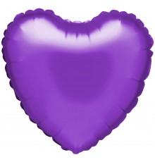 "Folienballon ""Herz"" violett"