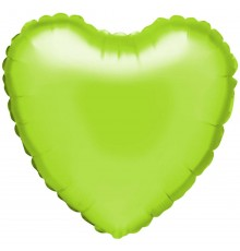 """Ballon aluminium """"coeur"""" en chaux"""