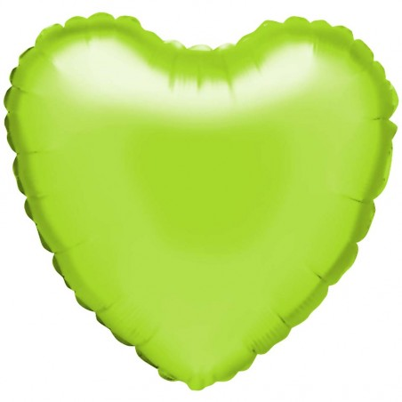 "Folienballon ""Herz"" limone"