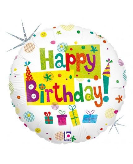 """Folienballon """"Happy Birthday Party"""""""