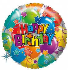 """Folienballon """"Party Happy Birthday"""""""