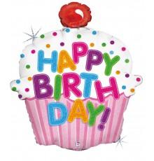 """Folienballon """"Birthday Torte"""""""