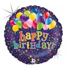 """Folienballon """"Happy Birthday Ballons"""""""